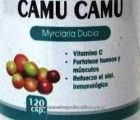 Camu Camu 120 caps label